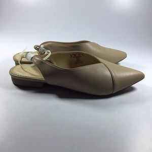 Simply Styled Shoes - Women's sling back nude dress flat size 10M